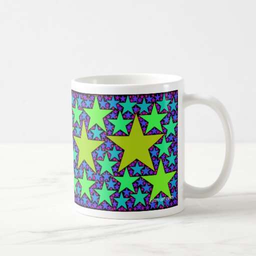 stars 2 classic white coffee mug