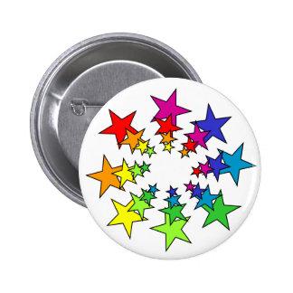 Stars 2 Inch Round Button