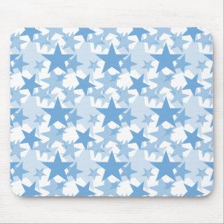 Stars 3 Placid Blue Mouse Pad