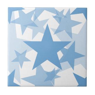Stars 3 Placid Blue Tile