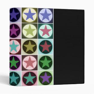 stars 3 ring binder