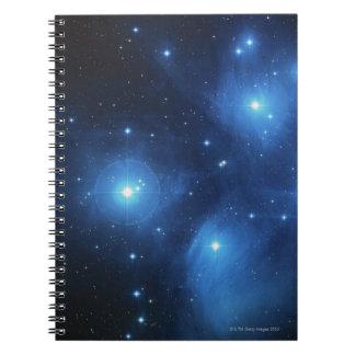 Stars 3 spiral notebook
