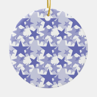 Stars 3 Violet Tulip Christmas Ornaments