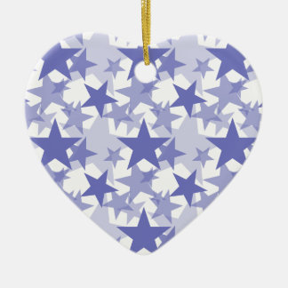 Stars 3 Violet Tulip Christmas Tree Ornaments