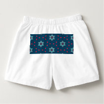 Stars abstract pattern boxers