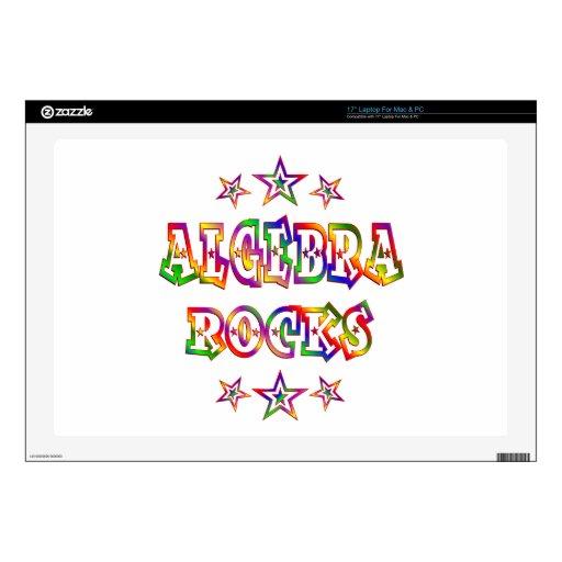 """Stars Algebra Rocks 17"""" Laptop Skin"""