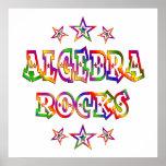 Stars Algebra Rocks Print