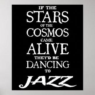 """STARS ALIVE"" - Jazz - 24"" x 20"" Poster (Matte)"