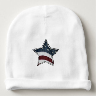 Stars and Bars Baby Beanie