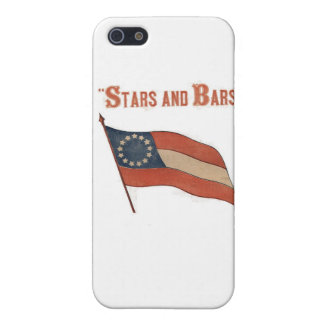 Stars and Bars Hard Shell Case for iPhone 4