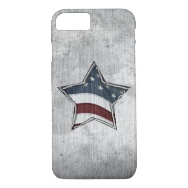 USA Themed Stars and Bars iPhone Case