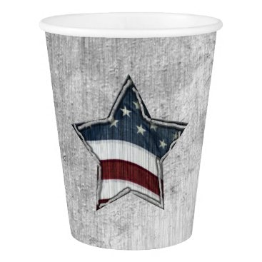 Stars and Bars Paper Cup