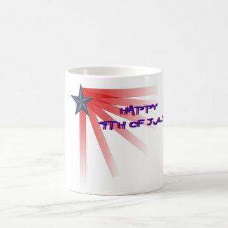 Stars and Bars Salute Classic White Coffee Mug