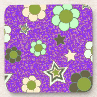 Stars and Flowers! Coaster