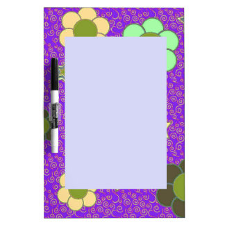 Stars and Flowers! Dry Erase Board