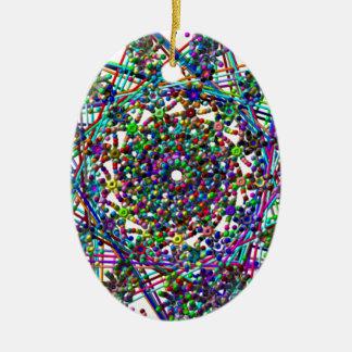 stars and glitterz.png ceramic ornament