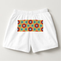 Stars and honeycombs pattern boxers