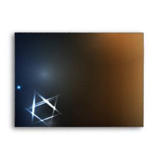 STARS and LIGHTS Bar Bat Mitzvah Custom Envelope