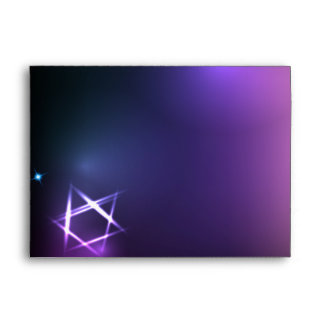 STARS and LIGHTS Bar Bat Mitzvah Envelope
