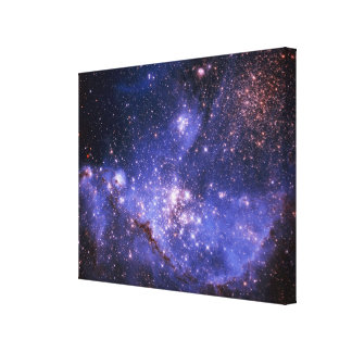Stars and Milky Way Canvas Print
