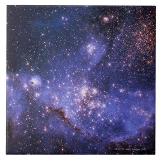 Stars and Milky Way Tile