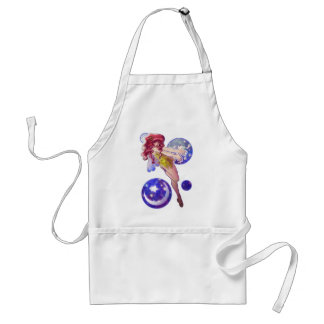Stars and Moon Fairy Design Adult Apron