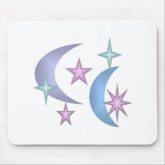 stars and moons psp mouse pad