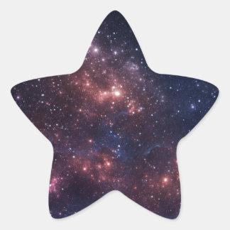 Stars and nebula star sticker