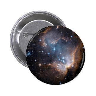 Stars and Nebulae 2 Inch Round Button