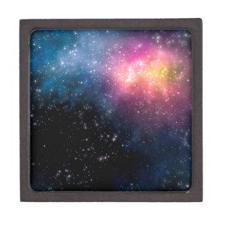 Stars and Nebulas Jewelry Box
