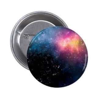 Stars and Nebulas Pinback Button