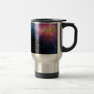 Stars and Nebulas Travel Mug