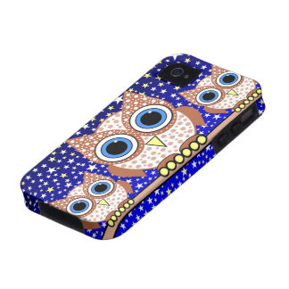 stars and owls Case-Mate iPhone 4 cover