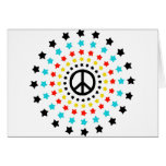 Stars and Peace Greeting Cards