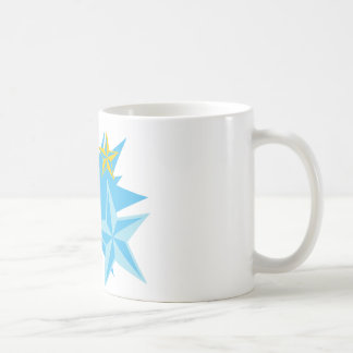 Stars and Peace Sign Coffee Mug
