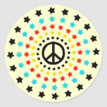 Stars and Peace Stickers
