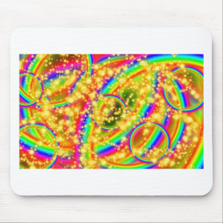 Stars and Rainbows Mouse Pad