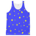 Stars and Snowflakes Graphic by Miriam Kilmer All-Over-Print Tank Top