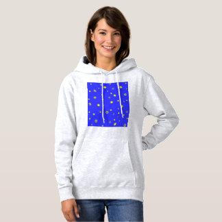 stars and snowflakes hoodie