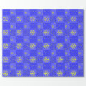 Stars and Snowflakes tiled wrapping paper