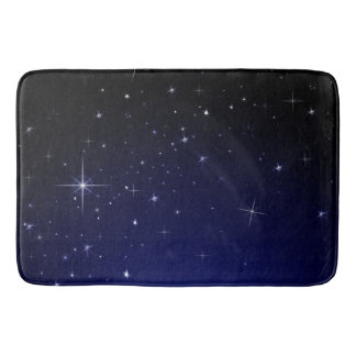 STARS AND SPACE BATHROOM MAT