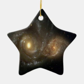 Stars and Spiral Galaxies Hanging Pendant Ornament
