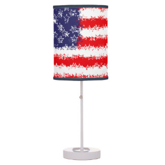 STARS AND STARS AND STRIPES DESK LAMPS
