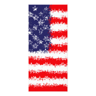 STARS AND STARS AND STRIPES RACK CARD