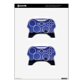 Stars and Stars Trails Xbox 360 Controller Decal