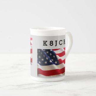 Stars and Stripe Amateur Racdio Mug