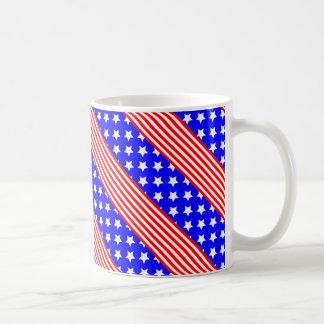 Stars and Stripe of USA, Patriotic Design Coffee Mug