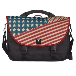 Stars and Striped Triangle Bag For Laptop
