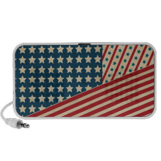 Stars and Striped Triangle iPhone Speaker