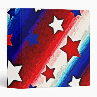 """STARS AND STRIPES 1.5"""" Ring Binder"""